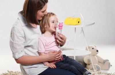 Ингаляция небулайзером ребенку