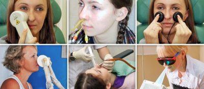 Физиолечение носа