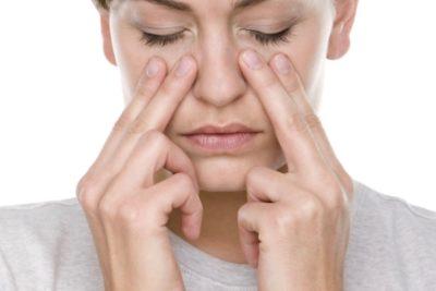 Массирование носа