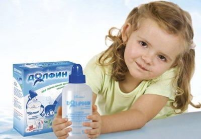 Ребенок с препаратом